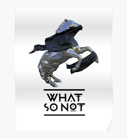 what so not horse Poster
