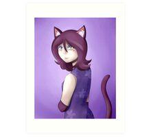 Olivia - Animal Crossing Art Print