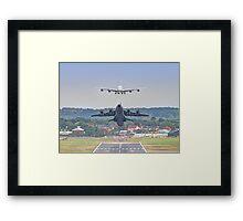 Airbus Frenzy - Farnborough 2014 Framed Print