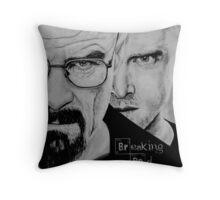 Breaking bad art Throw Pillow