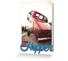 Lowrider hopper Greeting Card