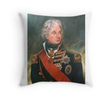 Lord Nelson Throw Pillow