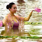 Water performance, Ayudhaya, Thailand by indiafrank