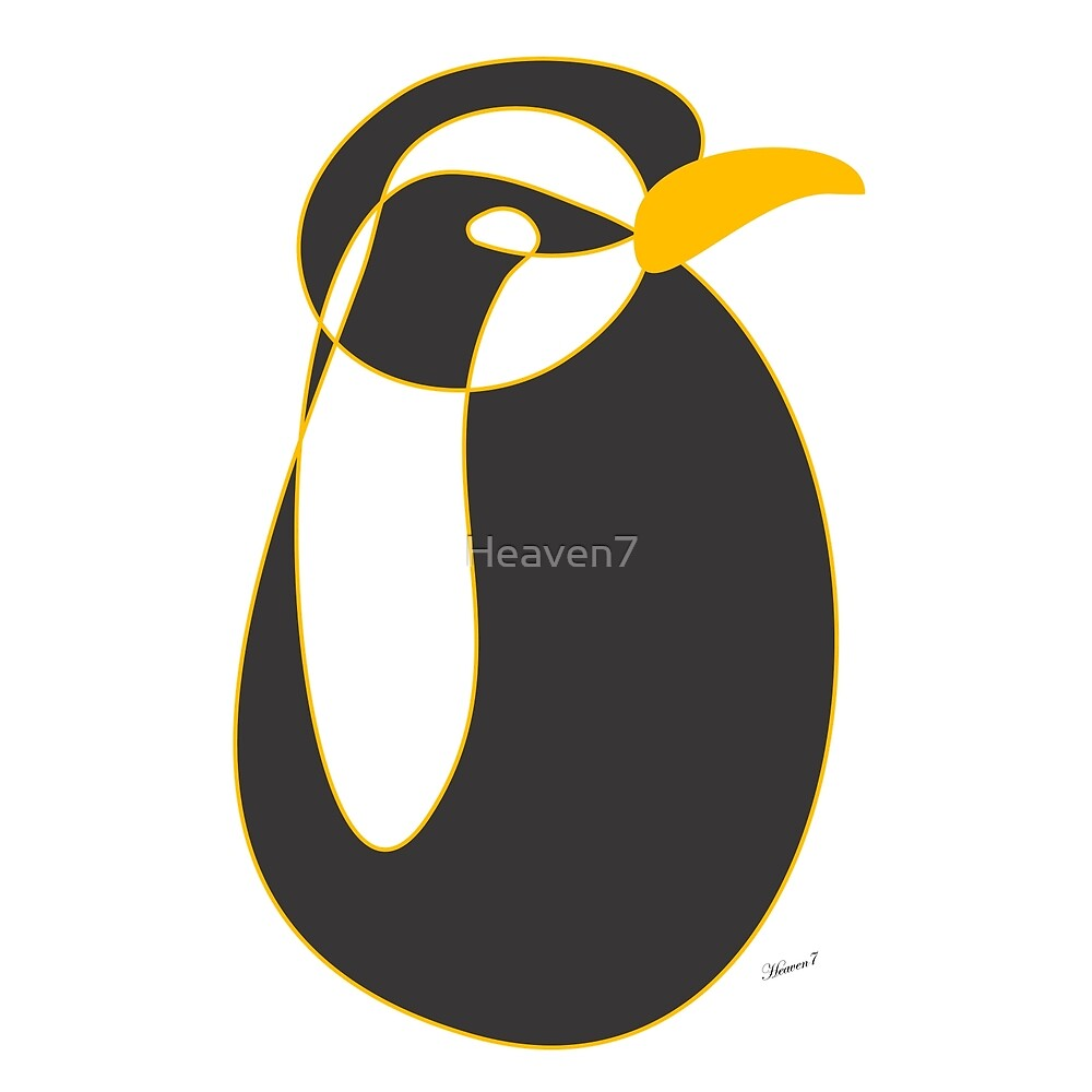 The penguin by Heaven7