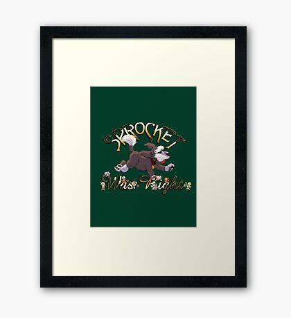 Sprocket was Right Framed Print