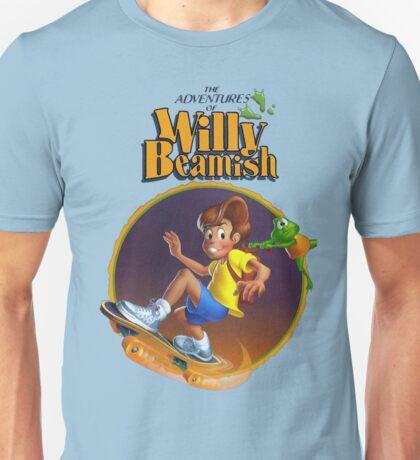 Adventures of Willy Beamish - SEGA CD Box Art Unisex T-Shirt