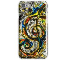 The trouble with clefs #3 iPhone Case/Skin
