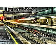The Train of All Lost Hopes and Dreams Photographic Print