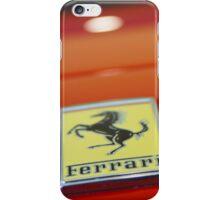 Ferrari Arty Logo  iPhone Case/Skin