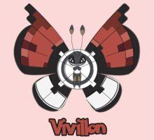 Vivillon a Pokemon shirt One Piece - Long Sleeve