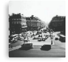 place de l'opera Canvas Print
