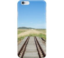 End of the Line iPhone Case/Skin
