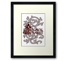 Pirates of the Caribbean-The Black Pearl Framed Print