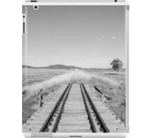 End of the Line - Black & White iPad Case/Skin