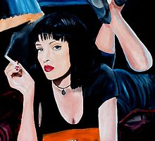 pulp fiction by iconic-arts