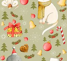 Christmas Pattern by Judith Loske