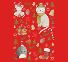 Christmas Pattern Kids Tee