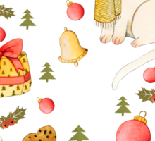 Christmas Pattern Sticker
