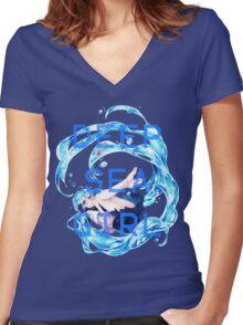 Deep Sea Girl - Hatsune Miku Women's Fitted V-Neck T-Shirt