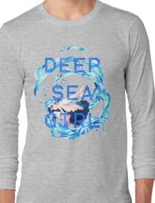 Deep Sea Girl - Hatsune Miku Long Sleeve T-Shirt