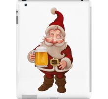 Santa Claus Beer iPad Case/Skin