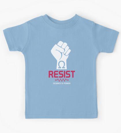 Resist T-Shirt: Science is Power Kids Tee