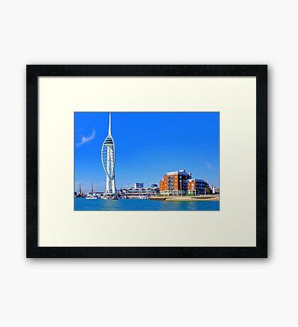 The Spinnaker Tower Portsmouth Framed Print