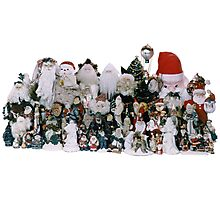 Our Santa Collection (Best viewed large) Photographic Print
