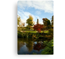 St Chads from The Quarry, Shrewsbury Canvas Print