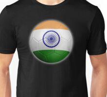 India - Indian Flag - Football or Soccer 2 Unisex T-Shirt