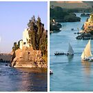 The Nile Diptych by dunawori