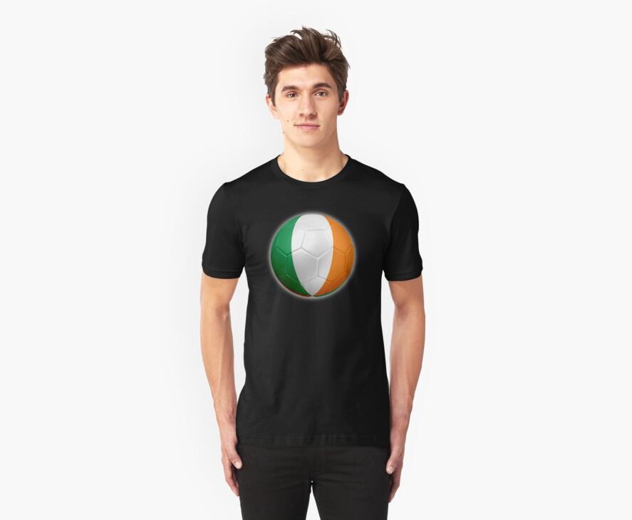 Ireland - Irish Flag - Football or Soccer 2 by graphix