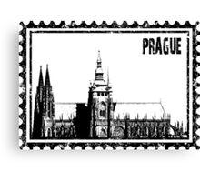 Prague castle Canvas Print