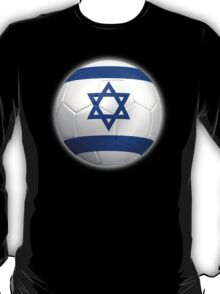 Israel - Israeli Flag - Football or Soccer 2 T-Shirt