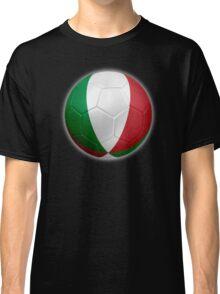 Italy - Italian Flag - Football or Soccer 2 Classic T-Shirt