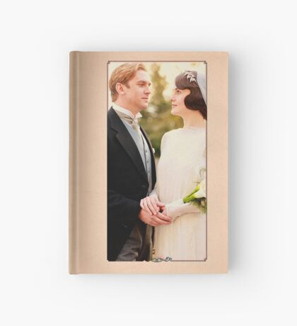Mary and Matthew Crawley Hardcover Journal
