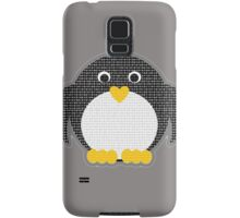 Penguin - Binary Tux Samsung Galaxy Case/Skin