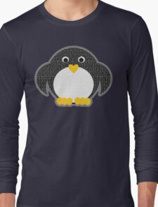 Penguin - Binary Tux Long Sleeve T-Shirt