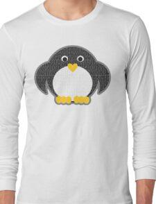 Penguin - Binary Tux Long Sleeve T-Shirt