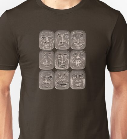 Lid Faces Unisex T-Shirt