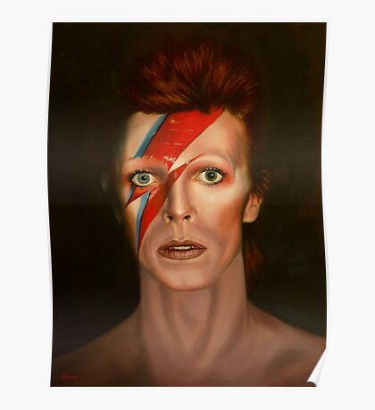 Aladdin Sane - David Bowie Poster