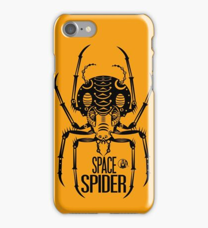 Space Spider! (black) iPhone Case/Skin