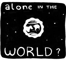 Alone (in the world?) by cannipig