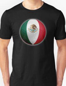 Mexico - Mexican Flag - Football or Soccer 2 T-Shirt