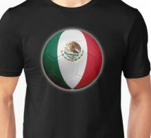 Mexico - Mexican Flag - Football or Soccer 2 Unisex T-Shirt