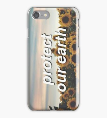 Protect Our Earth iPhone Case/Skin