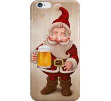 Santa Claus Beer iPhone Case/Skin