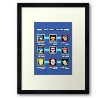 PokéMan Framed Print