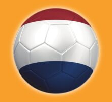 Netherlands - Dutch Flag - Football or Soccer 2 by graphix