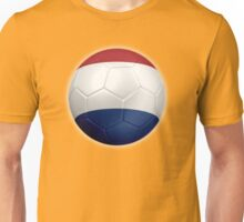 Netherlands - Dutch Flag - Football or Soccer 2 Unisex T-Shirt
